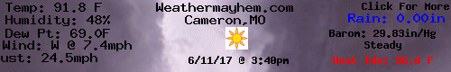 Current Weather Conditions in Cameron,MO